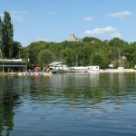 base de loisirs lac vert plage à Doulcon en Meuse Lorraine près de Verdun