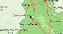 Dun sur Meuse Meuse Lorraine France
